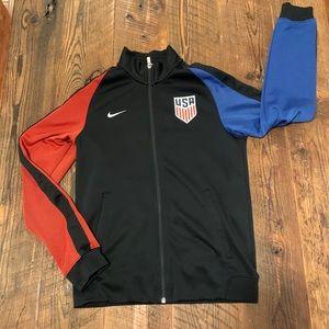 Nike Team USA Olympics Full Zip Sweatshirt Jacket